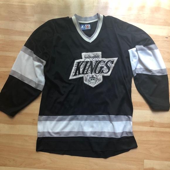 3f16dabbf6a STARTER Shirts | Vtg Los Angeles Kings Hockey Jersey Size Large ...